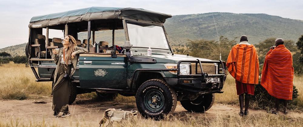 Platinum safari in Kenya